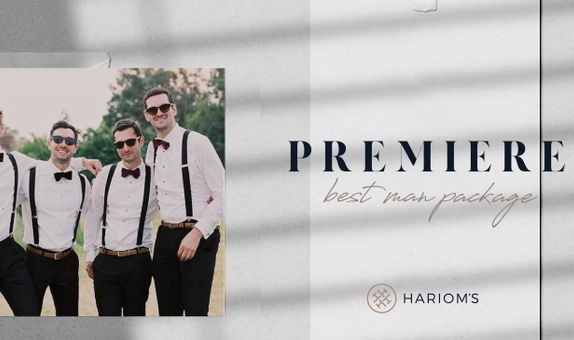 Hariom's Tailor - Best Man Package (Per Person)