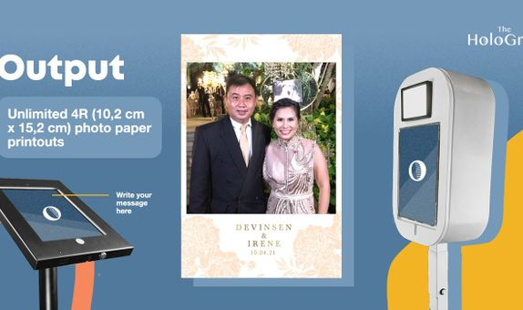 Greetings Photo Booth - 2 hours - Unlimited Prints
