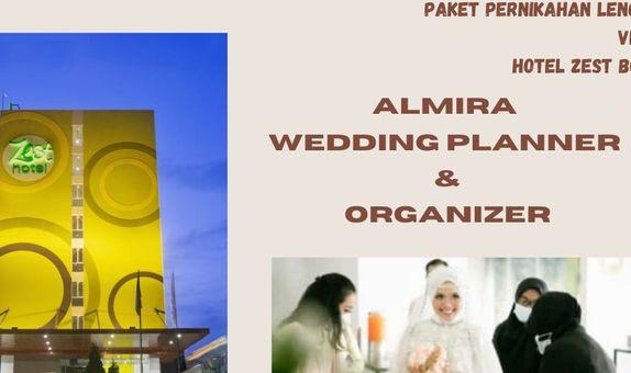 Paket Pernikahan Lengkap. Venue: Hotel Zest Bogor & Kirana Catering