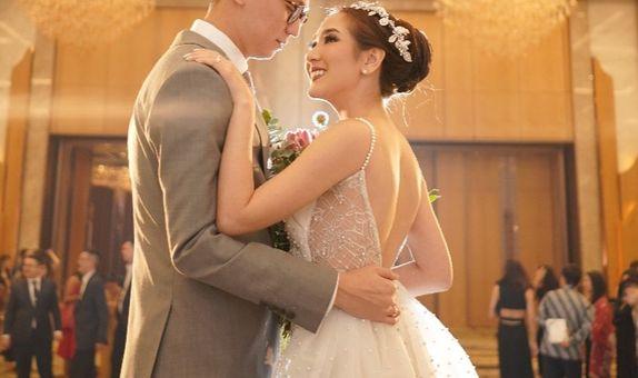 A LINE WEDDING DRESS
