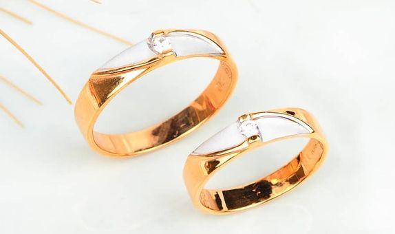 Cincin Kawin Couple Silver 925