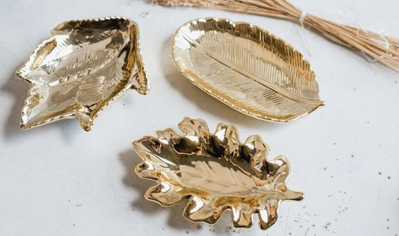 Gold Jewellery Tray