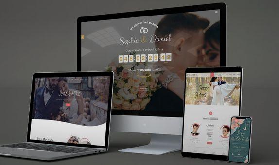 Sapphire Package | Wedding Invitation Website