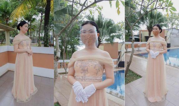 Nude Sabrina 2 Gown Rent