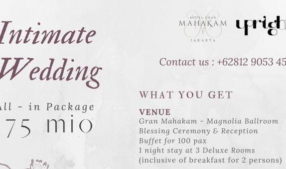 Gran Mahakam All-in Intimate Wedding