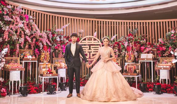 The Infinity Wedding at 360 Degree Function Room