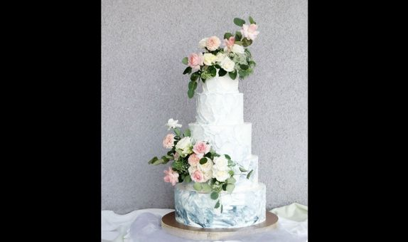 5 Tiered Wedding Cake B