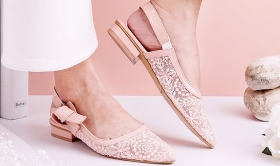 Sepatu Slingback Lacie Flats Pink