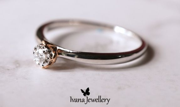 Cincin Berlian Sandra - Ivana Jewellery