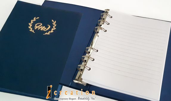 Paket 50pcs Wedding Invitation Binder Agenda