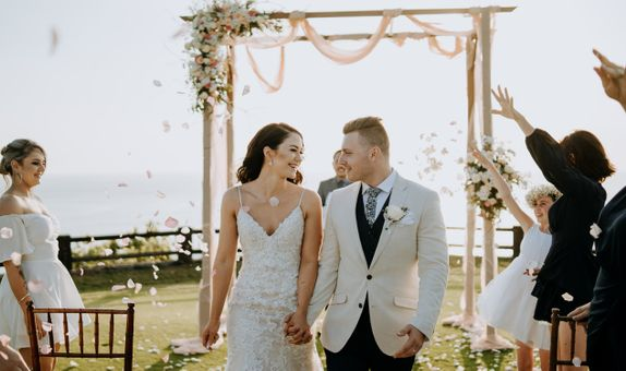 Clifftop Wedding Package - All-inclusive