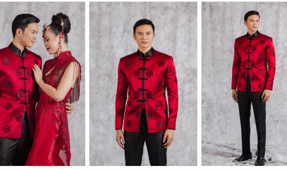 Cheongsam Silk Suit