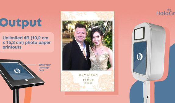 Greetings Photo Booth - 3 hours - Unlimited Prints
