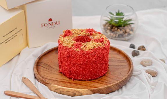Redvelvet Chiffon Cake