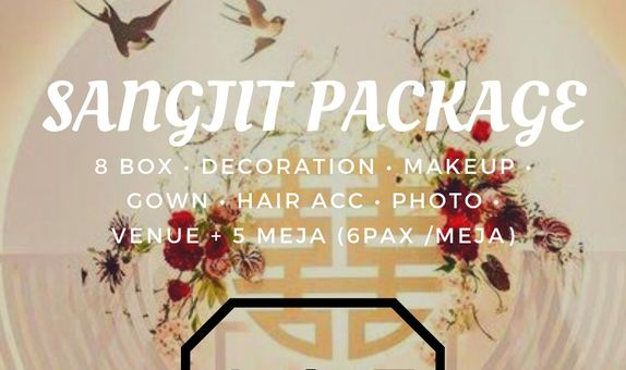 SANGJIT PACKAGE (Bridal&Gown, Decor,   b  n