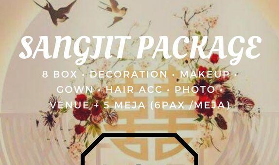 SANGJIT PACKAGE (Bridal&Gown, Decor,   b  n