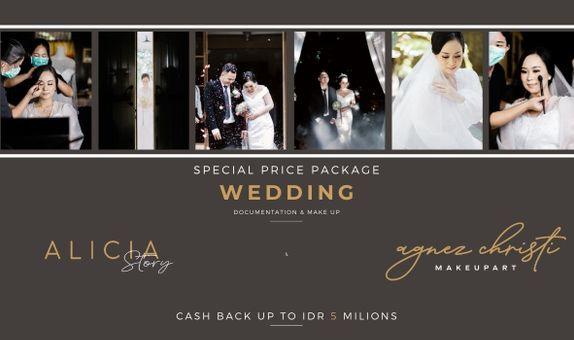 SPECIAL PACKAGE WEDDING ALICA STORY X AGNEZ CHRISTI MUA