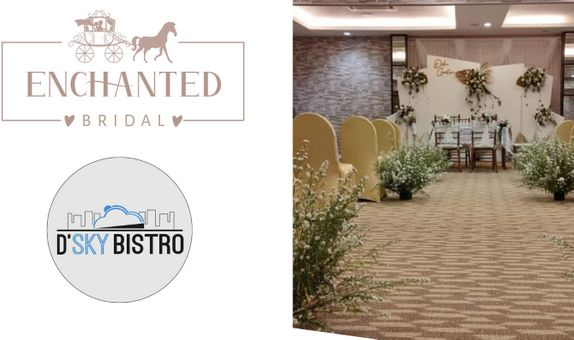 ONE-STOP WEDDING PACKAGE (BRIDAL, Venue 100 PAX BUFFET, Photovideo,DLL