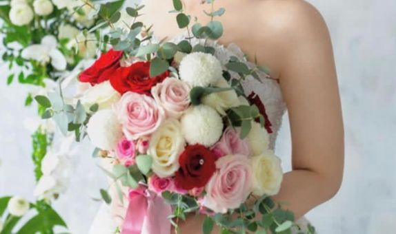 Local Flowers Hand Tied Bouquet