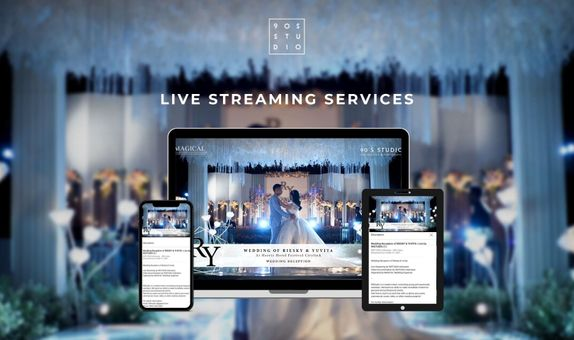 HALF DAY Cinematic Live Streaming for Engagement / Small Wedding /AKAD
