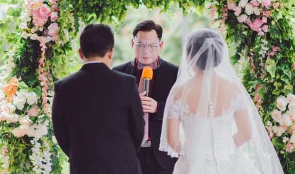 Intimate wedding VVIP