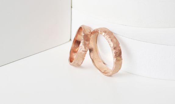 Surosmith Lepo Ring Rosegold - Silver