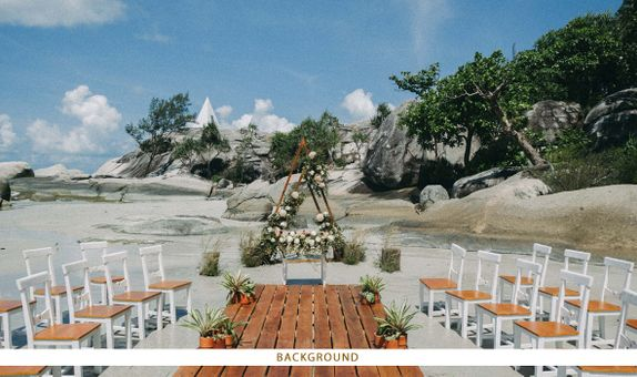 Gloriosa Ocean Wedding Decoration Package