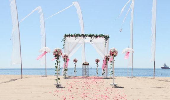 Blue Ocean Wedding Grand Mirage Resort
