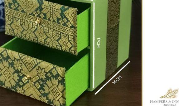 Mini Tenun Hijau Box