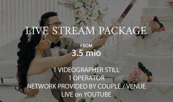 LiveStreaming for Holy Matrimony