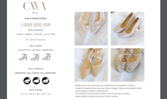CAVA Privé - Basic Category Wedding Shoes
