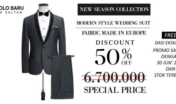 Modern Style Wedding Suit