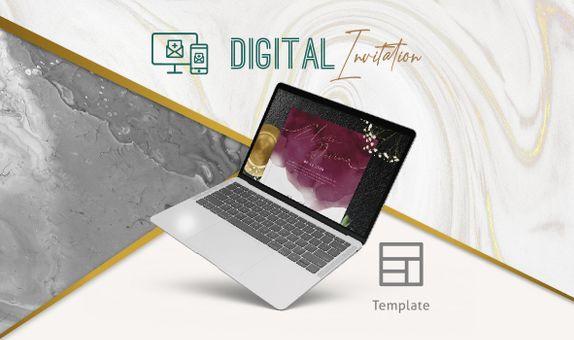 Template Digital Invitation / Undangan Digital