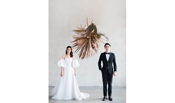SPECIAL CUSTOM MADE WEDDING DRESS worth IDR 6.500.000 only