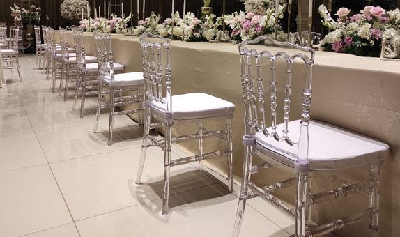 Napoleon Chairs - Clear