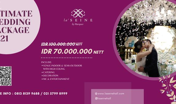 Intimate Wedding Package 2021
