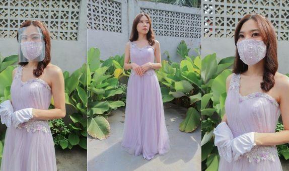 Lilac Tarzan Gown Rent
