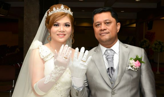 The Photo of Wedding Party and Wedding Day (Palace Packages)