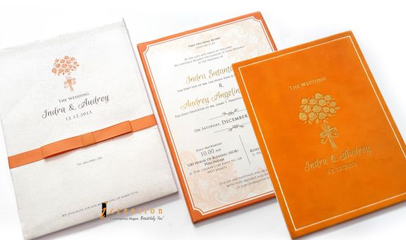 Special Package 25 - 50Pcs Rich Texture Single Invitation