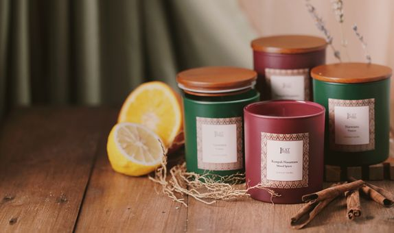 Scented Candles - Griya by IKAT Indonesia