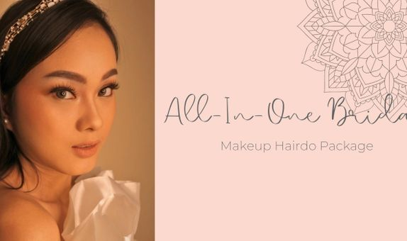 All-In-One Bridal Makeup Hairdo Package