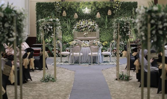 ALL IN 100 PAX HOTEL INTIMATE WEDDING PACKAGE