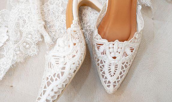 WEDDING SHOES/BRIDAL SHOES/SEPATU WEDDING BY REMIZY IVONNY