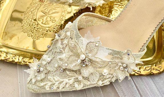 Norah Silver Party Shoes Women Stiletto Heels 7cm