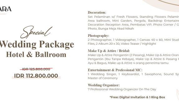 Special Wedding Package
