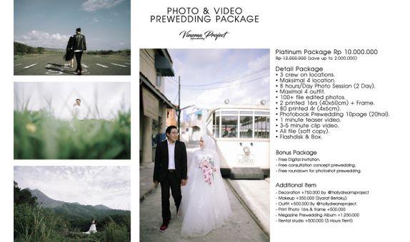 Prewedding Pack Photo & Video