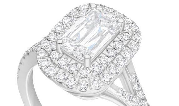 Passion Jewelry - DIAMOND LADIES RING ASHOKA CWF2142