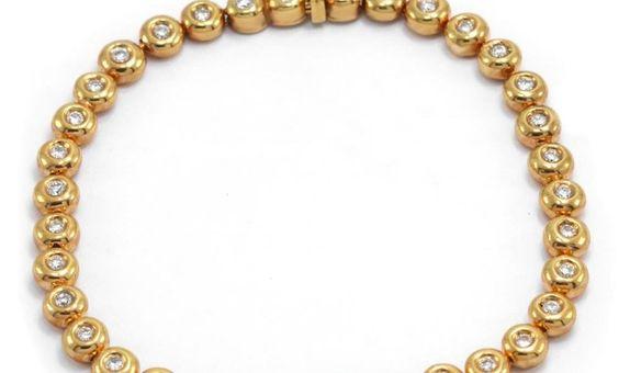 Gelang Emas Berlian Wanita DB000122 V&CO Jewellery