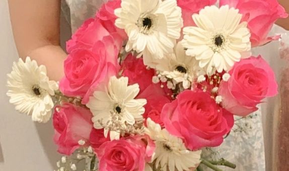 Simple Bouquet For Engagement FRESH FLOWERS