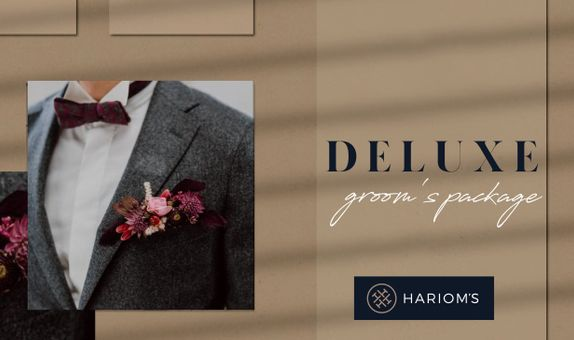 Hariom's Tailor - Groom's Outfit (Deluxe Package)